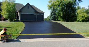 Correct Way to Sealcoat a Driveway - After