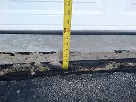 Garage Apron Repair
