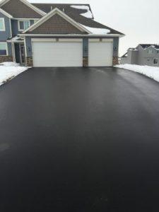 SealKing Sealed Driveway Months After Application