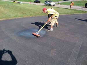 Oil Spot Treatment for My Driveway