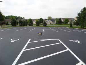Parking Lot Re-Surfacing and Striping