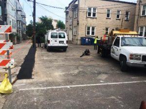 Pothole Repair Before