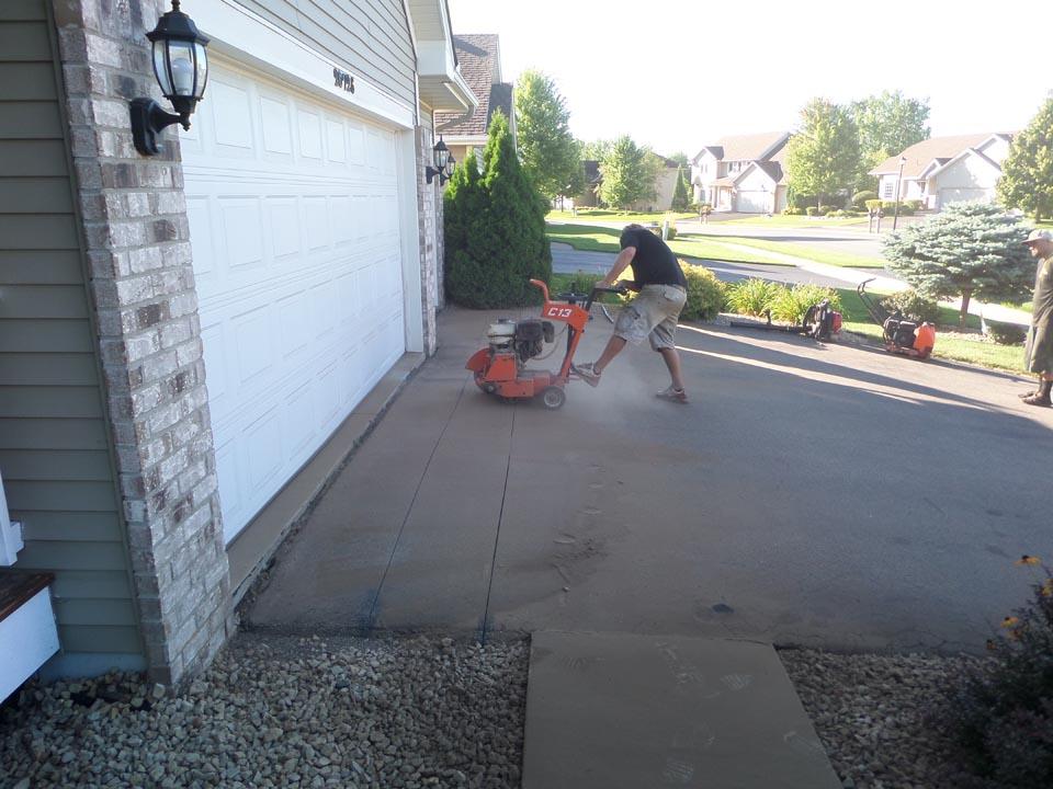 Asphalt Apron Repair Process Minnesota Professional Seal