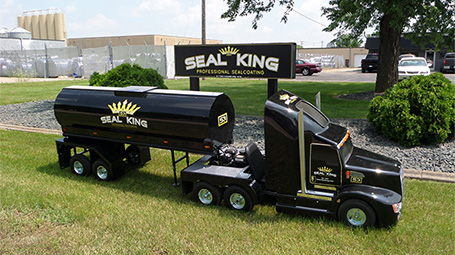 Professional Asphalt Seal Coating Services in MN